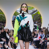 София Плетнева на Paris Fashion Week / Spring-Summer 2020